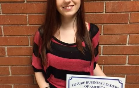 Christina Brunton places in FBLA State Competition