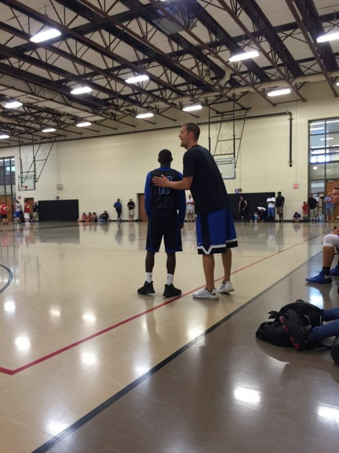New Basketball Coach Focuses on Building Foundation for the Future