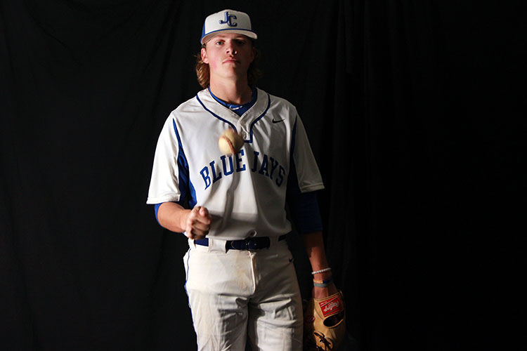 Junior Thane McDaniel has recently committed to play baseball at the University of Kansas.