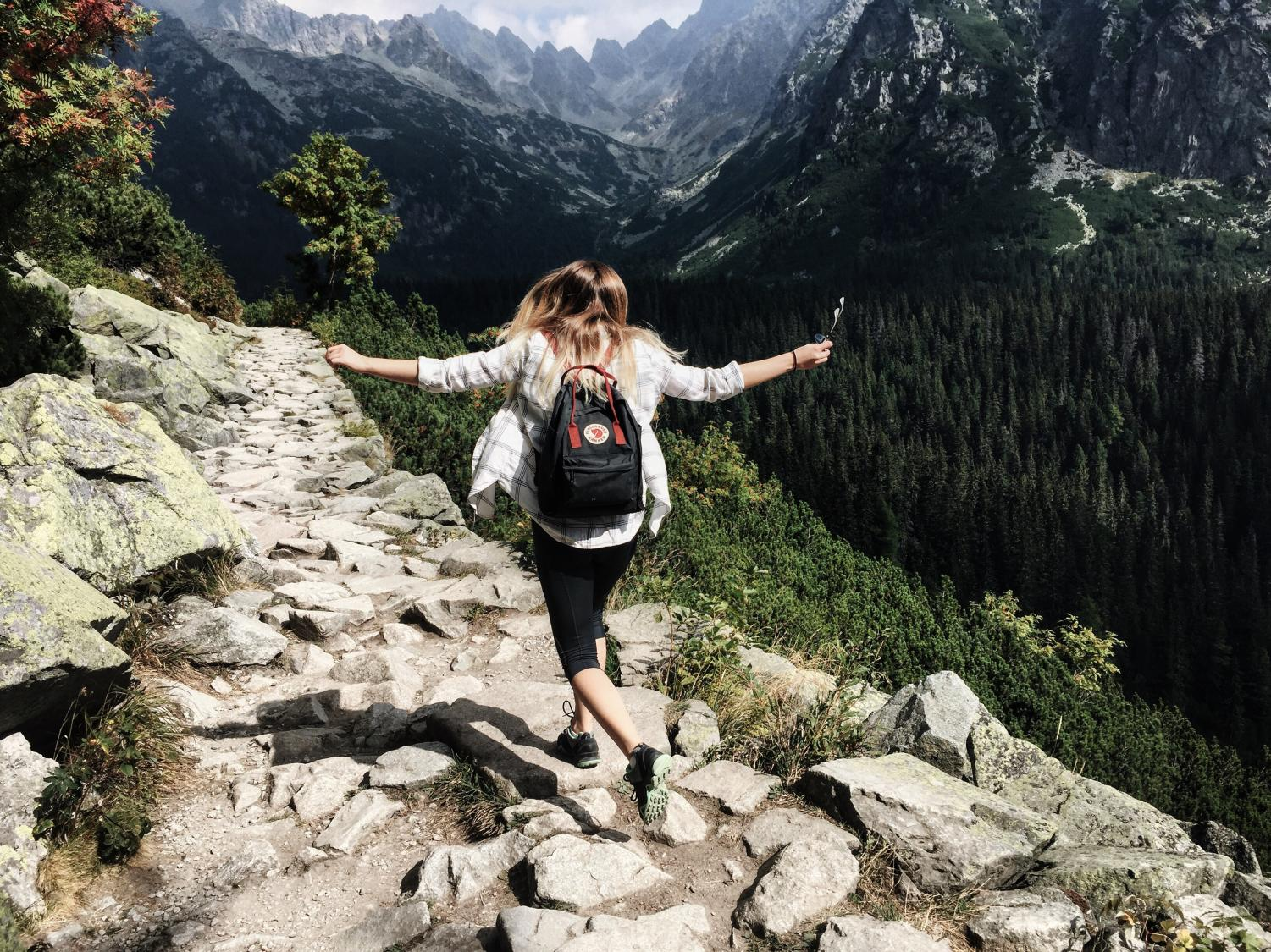 Hiking is a fun and opening activity to do when you have any free time.
