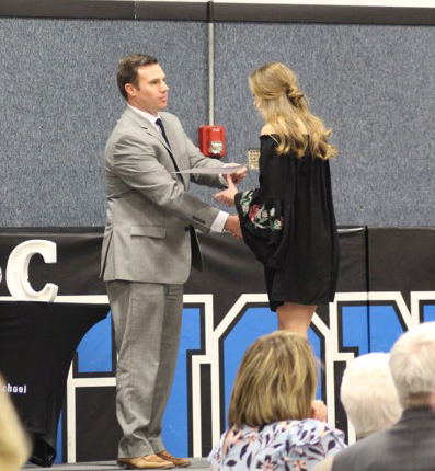 Students Honored at Academic Banquet