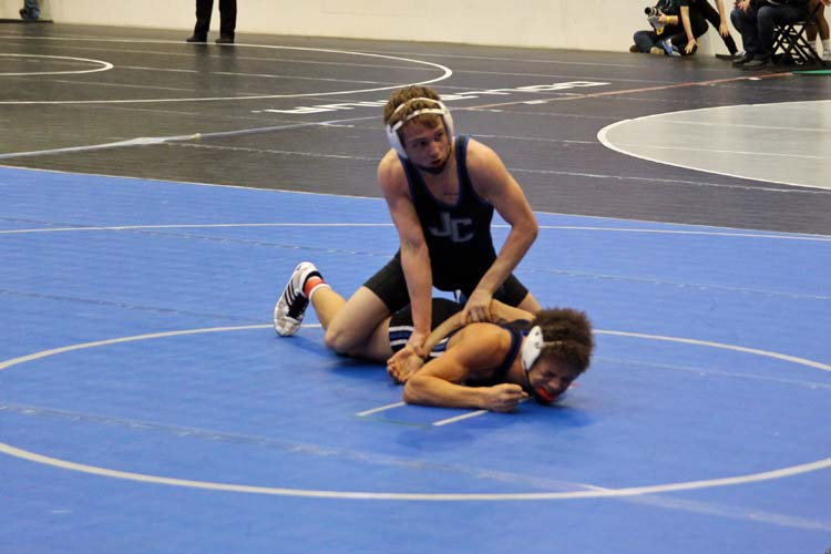 Max Bazan competed for his third 5th place medal against Rocky Sisco.