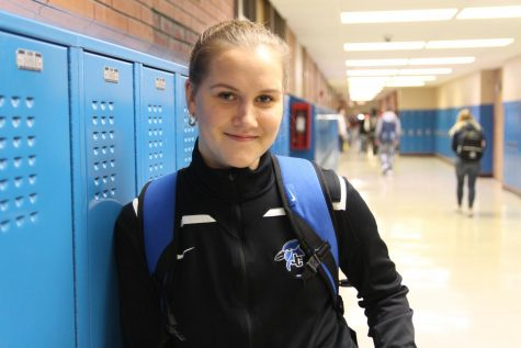 Exchange Student Maja Bellika Adjusts to Life In Junction City