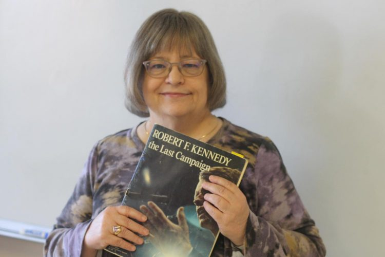 Social studies teacher Jean Garvey recalls her chance meetings with Presidential candidates Robert Kennedy and Hubert Humphrey.