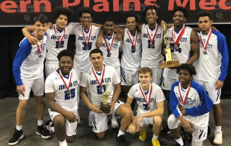 The Junction City High School varsity boys basketball team were crowned the Tournament of Champions runner-up with a second place finish.