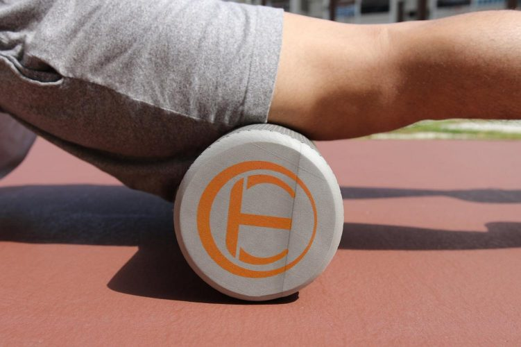 Foam rolling is one way athletes can help their body recover.