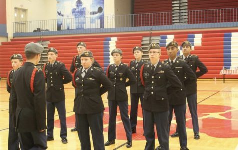 JROTC Drill Team Places Second in Council Bluffs Meet