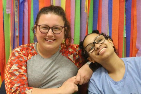 Senior Imahnie Perez and her para Candace Cooper discuss their relationship and how they have grown together.