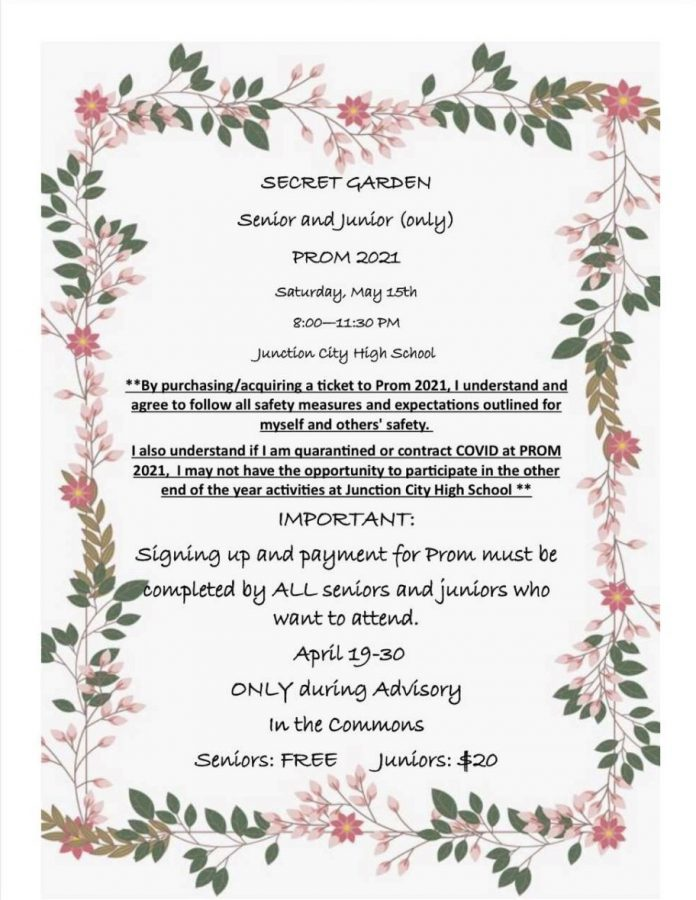 Prom theme and location is announced